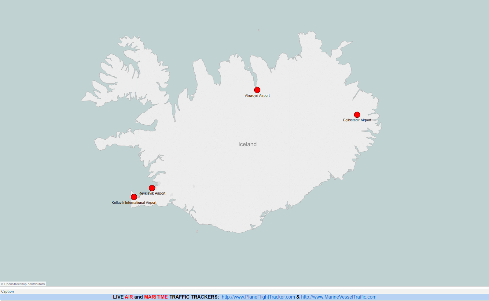 Air Traffic Map Live.Iceland Airports Map Plane Flight Tracker