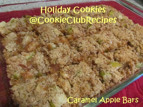 Caramel Apple Bars Recipe at CookieClubRecipes