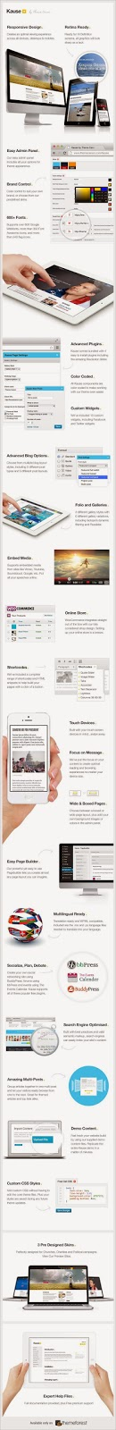 Responsive WordPress theme for Organization
