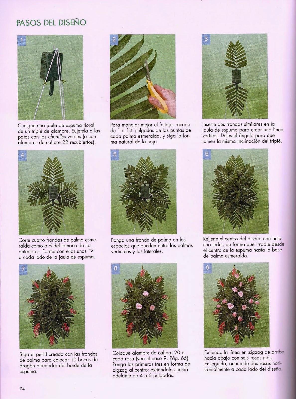 Lujo Uñas Diseños Florales Composición - Ideas de Pintar de Uñas ...