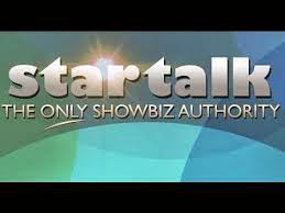 Startalk is a top-rating showbiz-oriented television talk show in the Philippines aired every Saturday afternoons by GMA Network and simulcast over Super Radyo DZBB. PART 1 PART 2