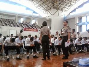 Pengumuman Hasil Tes/Uji Akademik Brigadir Polri 2014