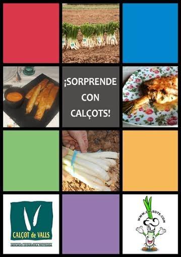 Libro de recetas con Calçots!!