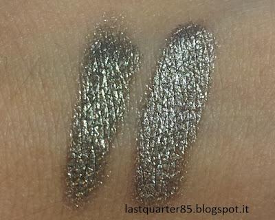Pupa Cream Eyeshadow Vamp: da sinistra a destra il numero 200 e il numero 400.