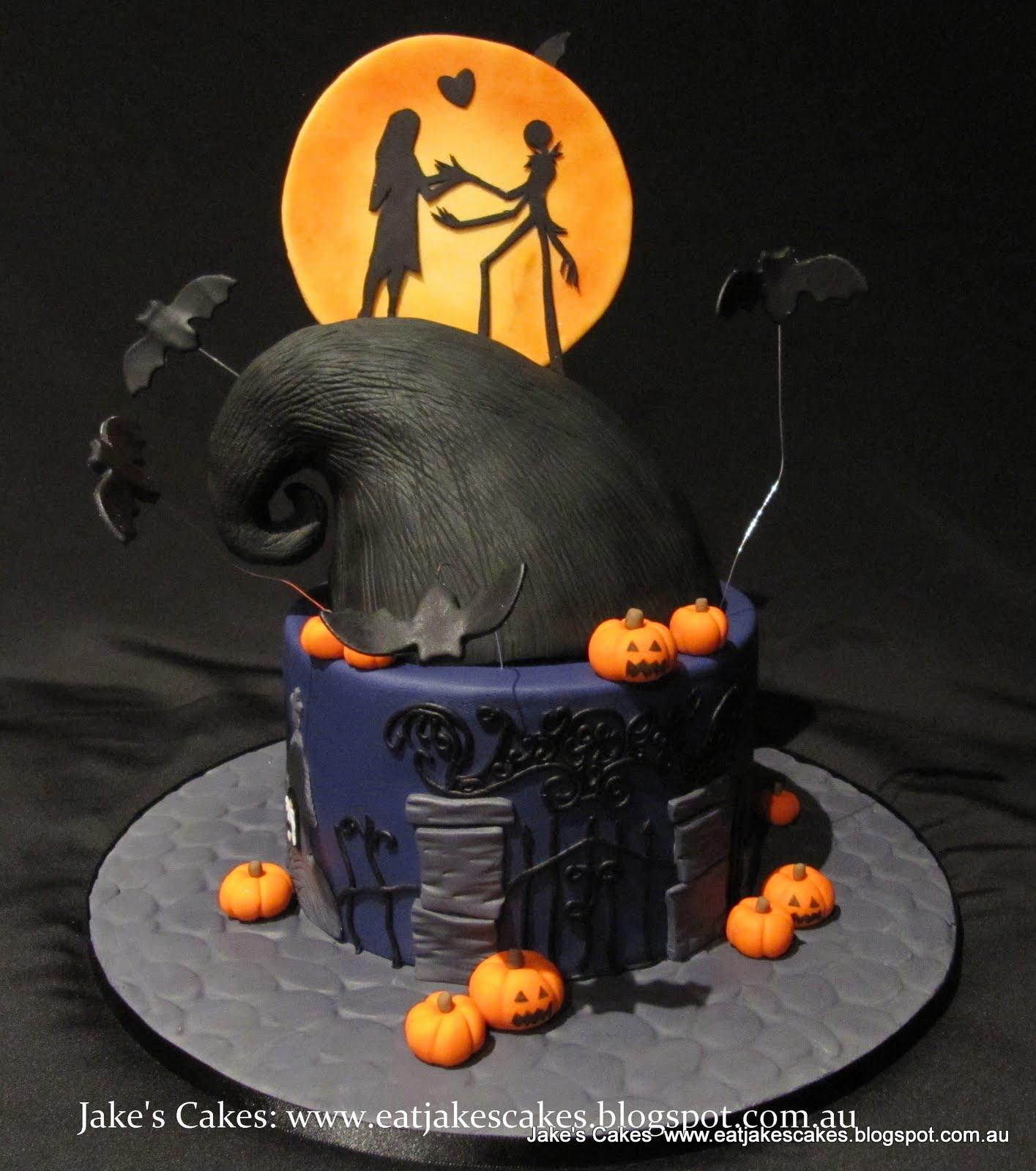 Jakes Cakes Nightmare Before Christmas Cake