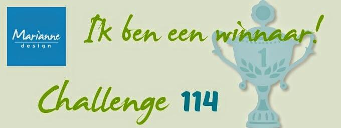 Winnaar challenge 114