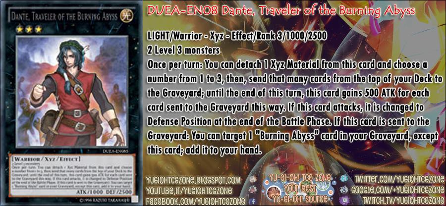 DUEA-EN085 Dante, Traveler of the Burning Abyss