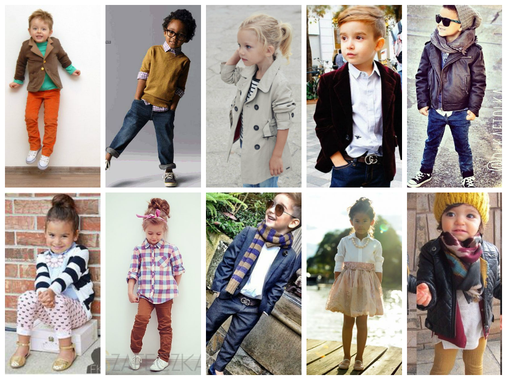 Clothes stylish for kids photo video