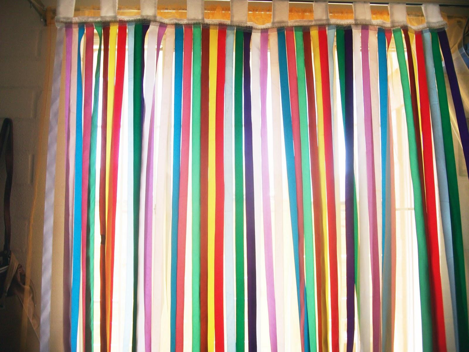 Alita crochet consentido cortina multicolor y su nuevo - Colores de cortinas ...