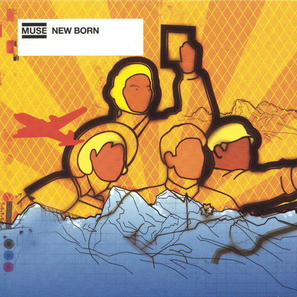 Muse - New Born - EP Cover