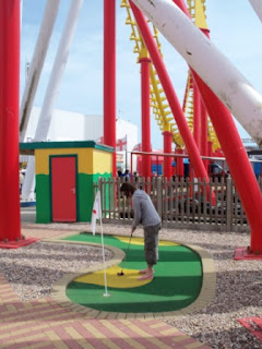 Crazy Golf at Fantasy Island in Ingoldmells, Lincolnshire