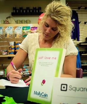Molly Cain Book Signing