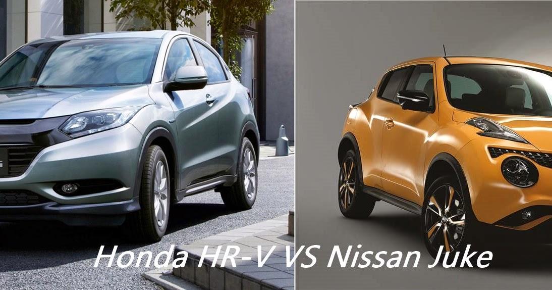 Perbandingan honda hr v dan nissan juke review mobil for Nissan juke vs honda hrv