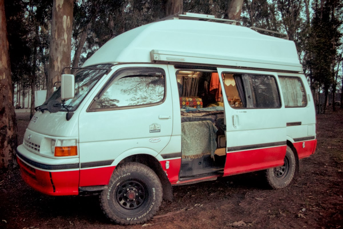 Hiace Hobo Living In A Toyota Camper Van The Hiace