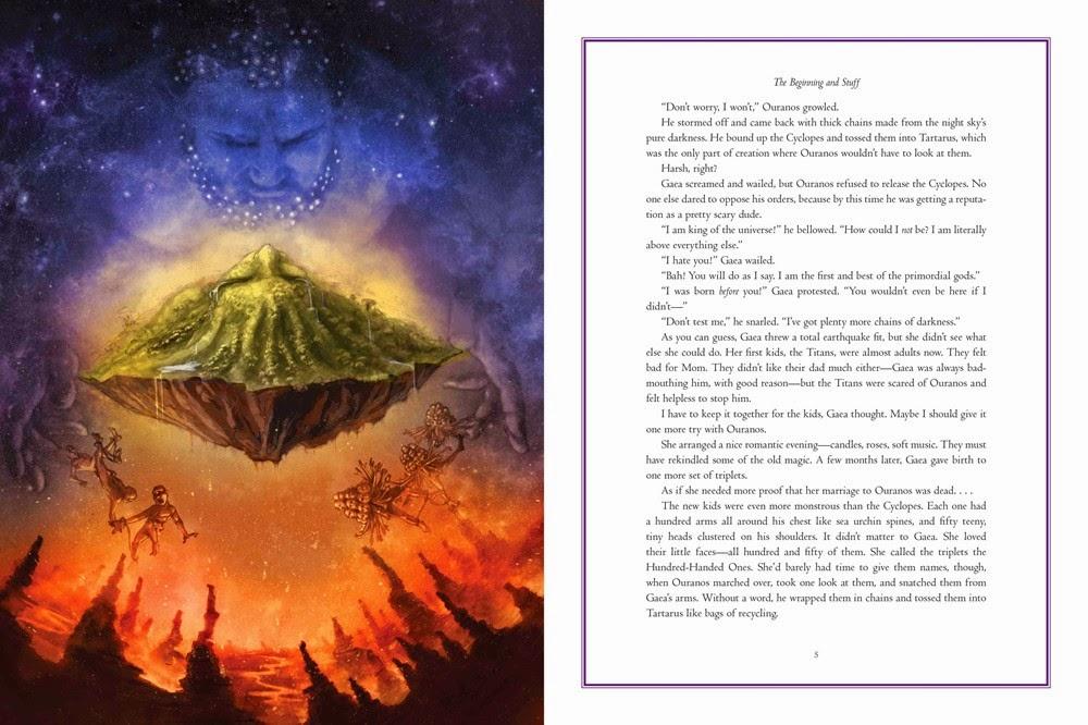 Gaea Greek Mythology Percy Jackson