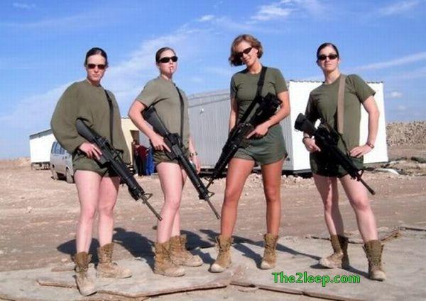 Hot Force Uniform Girls