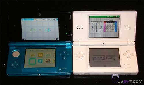 Handheld Addict: 3DS & DS Lite size