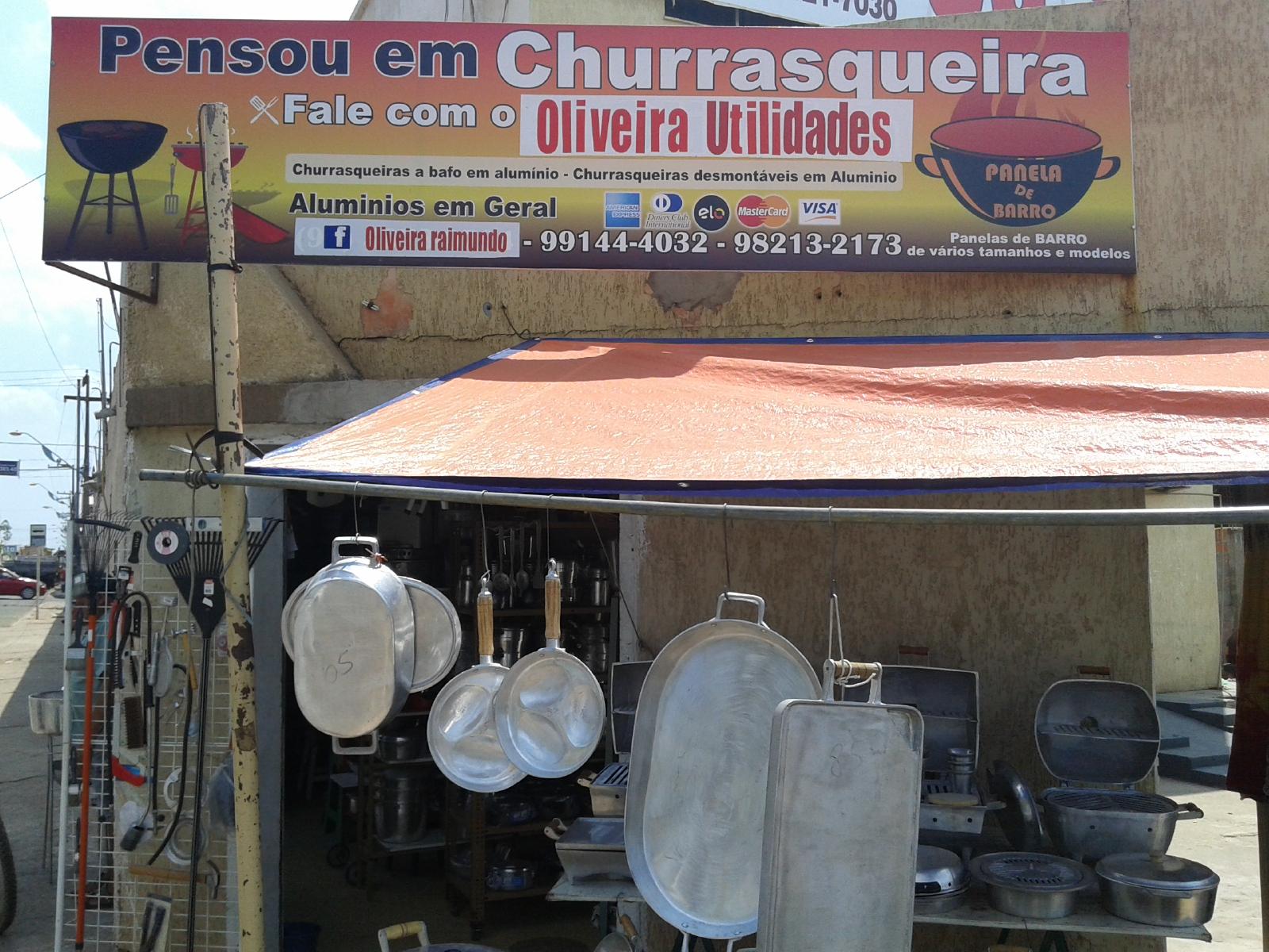 PENSOU EM CHURRASQUEIRA, FALE COM O SEU OLIVEIRA.