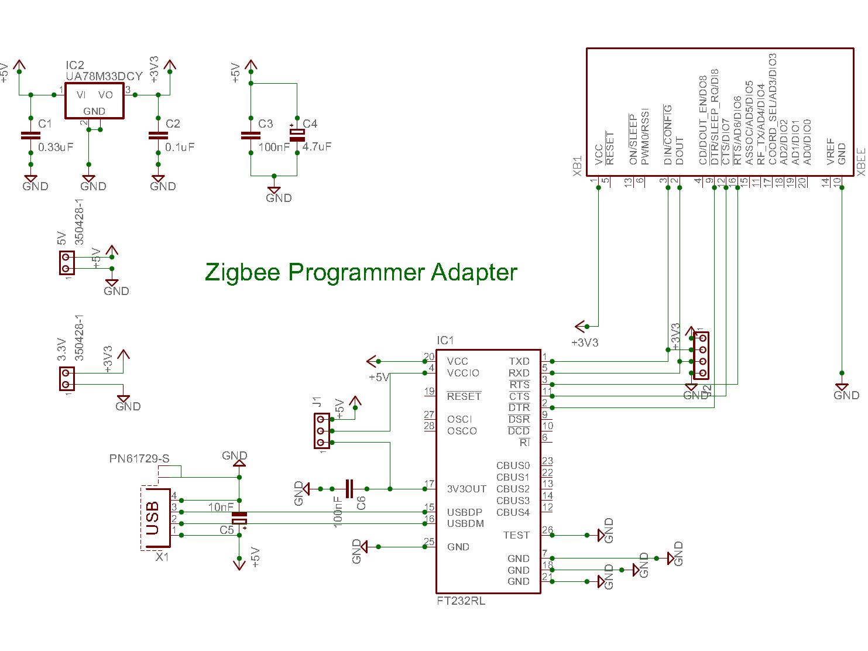 Zigbee    Programmer Adapter  February 2013