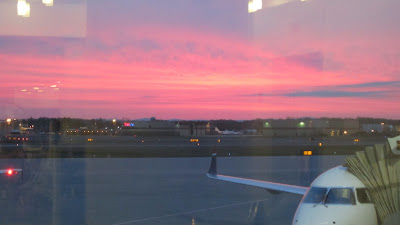 View from the Boarding Gate This Morning