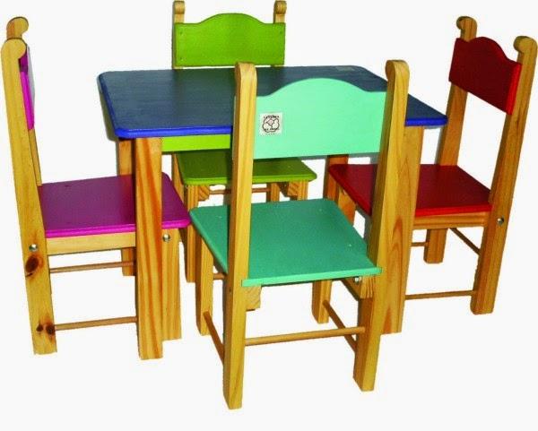 Marzua sillas infantiles for Muebles infantiles de madera