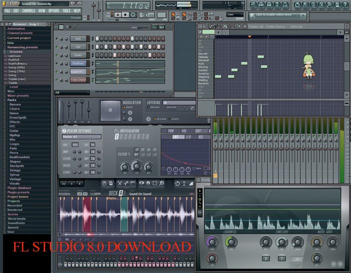 FL Studio 10.0 XXL Producer Edition Download