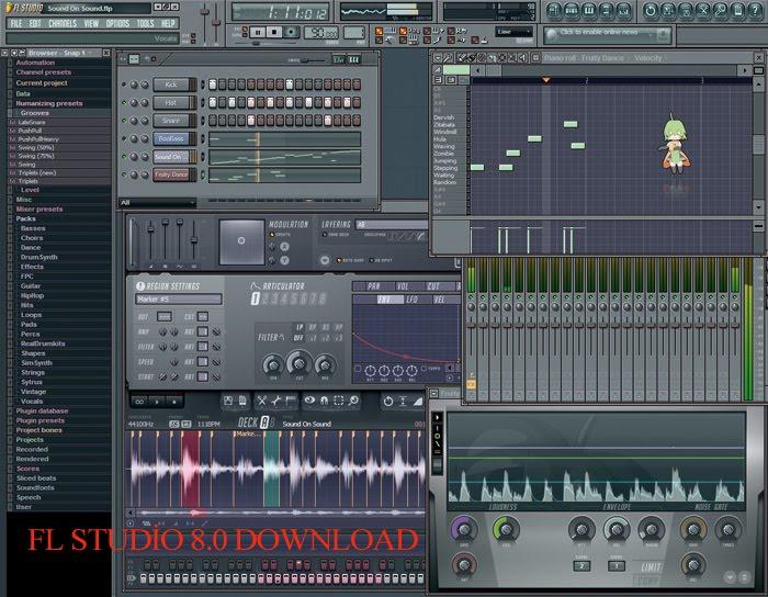 FL Studio 10.0 XXL Producer Edition Download