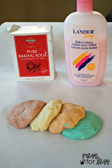 No cook lotion dough recipe