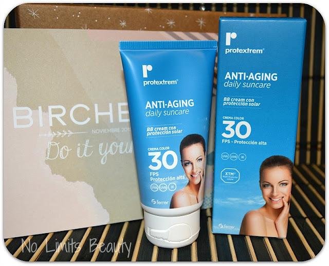 Birchbox Noviembre 2015 - Protextrem BB Cream AntiAging SPF30