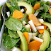 Spinach Fuyu Persimmon Salad with Miso Dressing Recipe