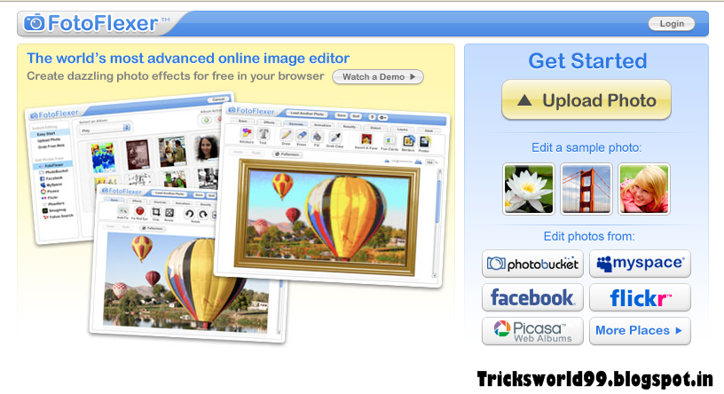 Top 6 Free Online Photo Editing Sites of 2013