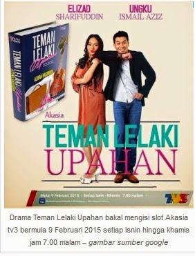 Sinopsis Teman Lelaki Upahan Slot Akasia TV3