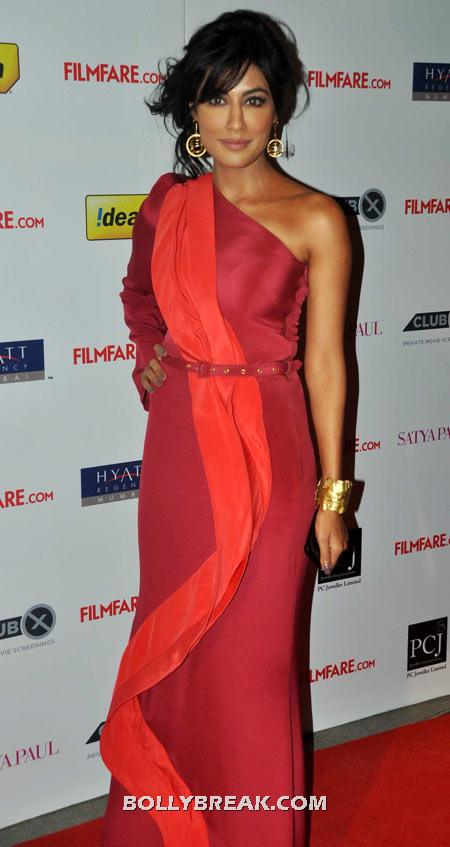 Chitrangada Singh Red Dress - (15) - Celebrity Pictures in Neon Dresses - Bollywood, Hollywood