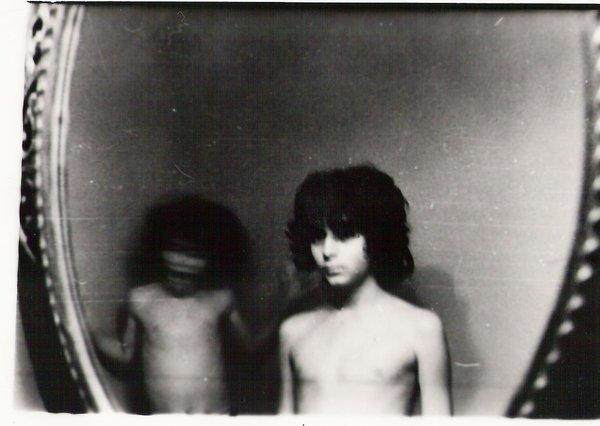 foto antigua de dos niños