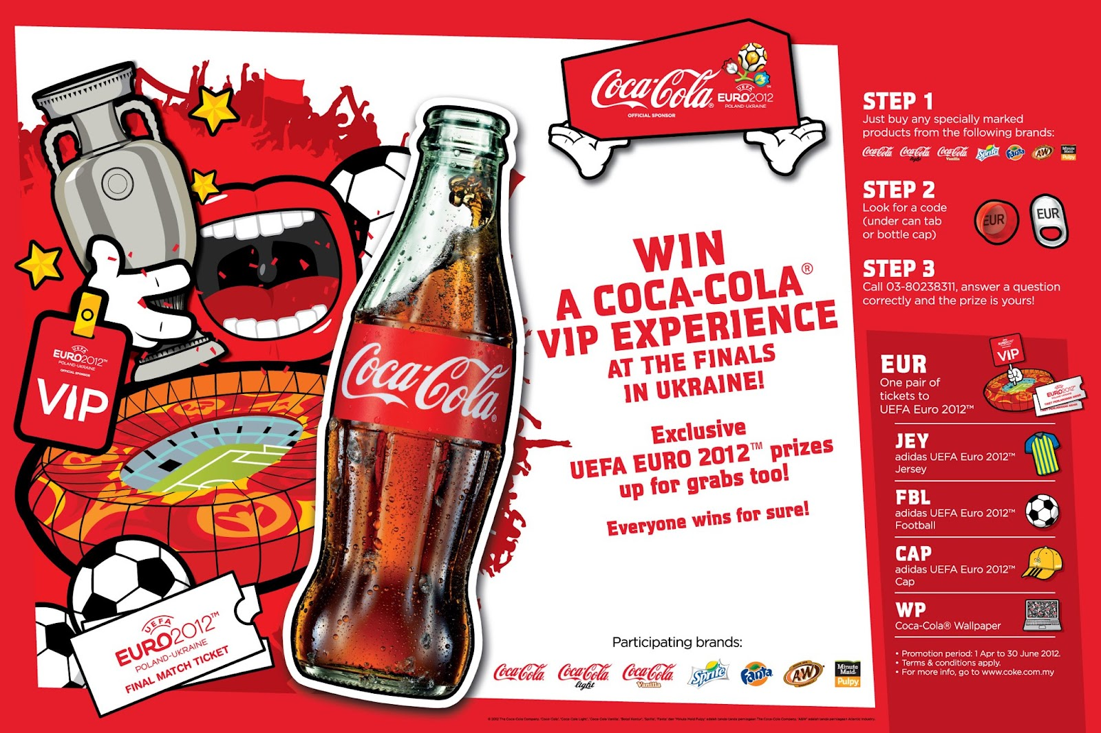 I Love Freebies Malaysia Freebies Contests Coca Cola Uefa