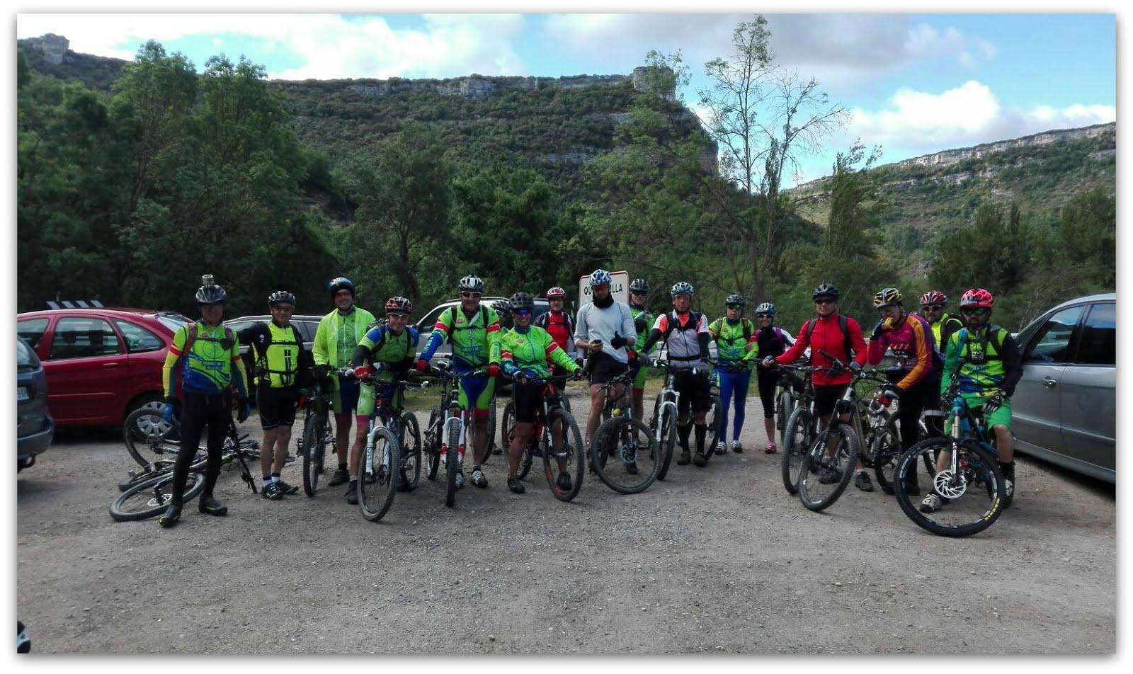 Marcha a Cañón del Ebro.29.05.2016. Primera parte