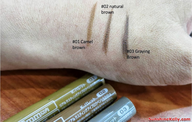 K-Palette Real Lasting Eyebrow Pencil, k-palette, japan, makeup