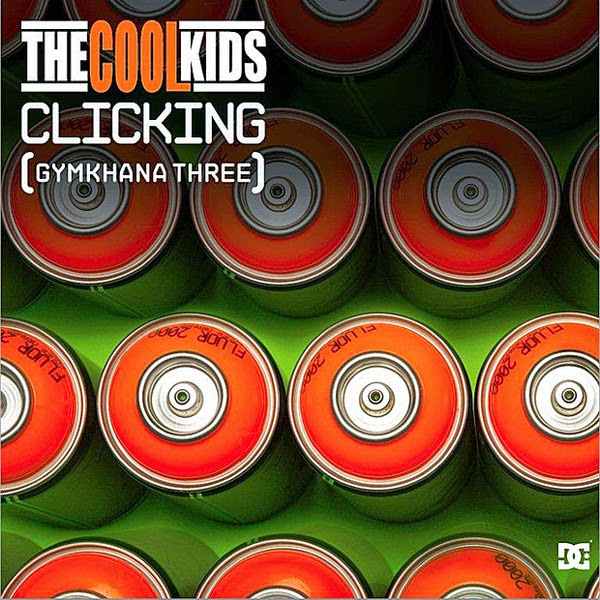 The Cool Kids - Clicking (Gymkhana 3) - Single Cover