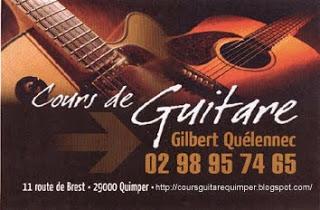 Cours de Guitare à Quimper