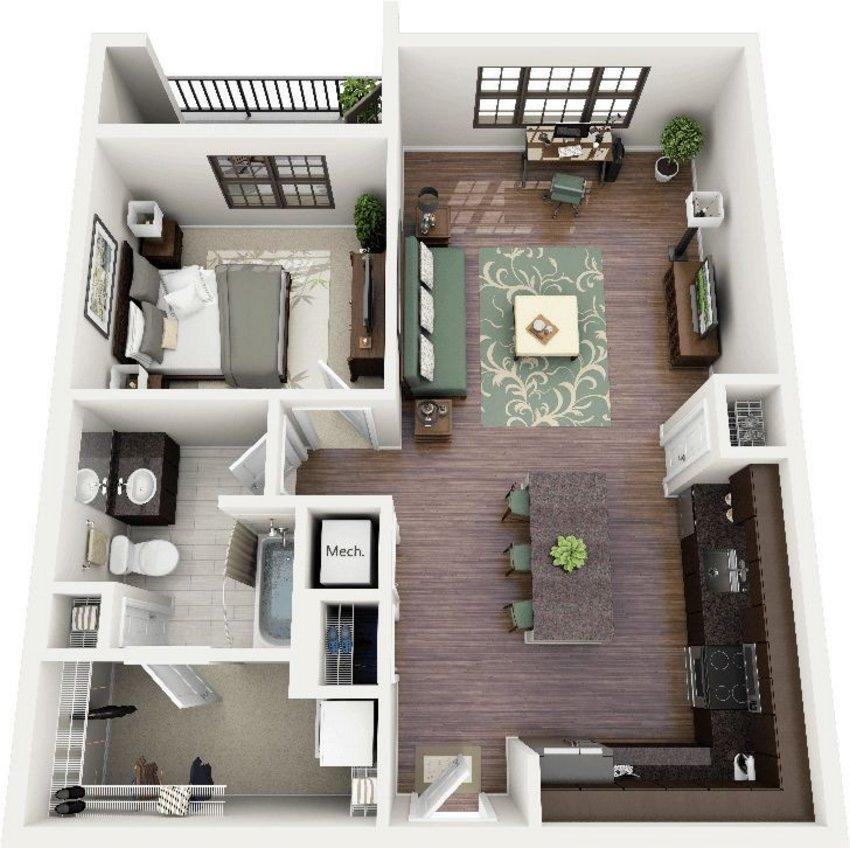 3D House Plans Concept 3