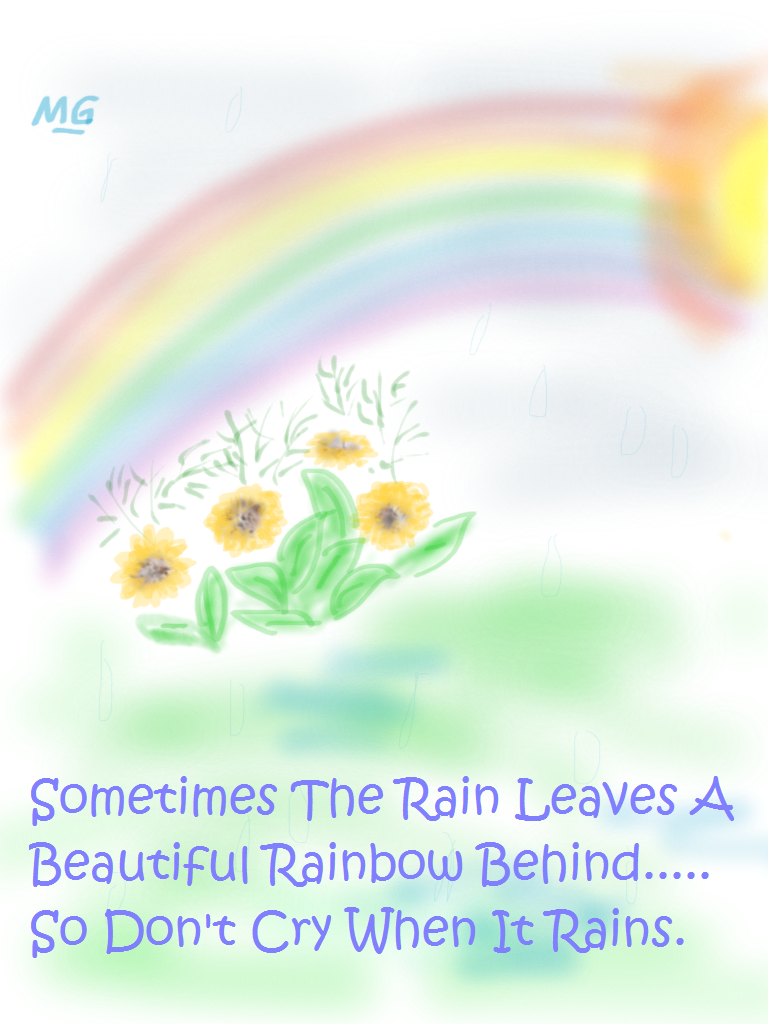 Gods Beautiful Rainbow Quotes. QuotesGram