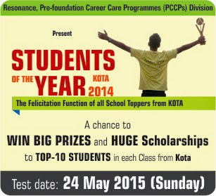 Student of the year 2015
