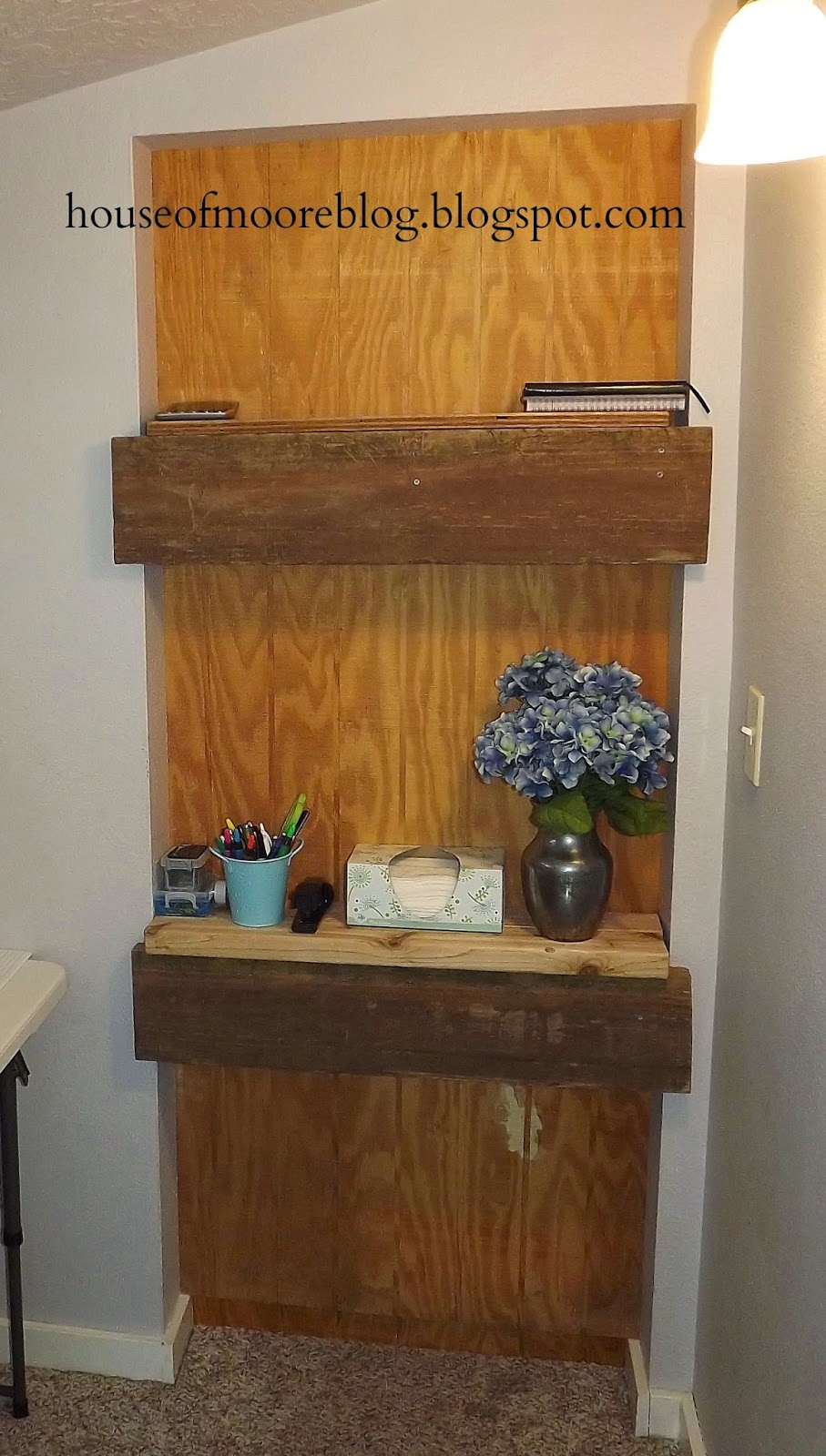 converted small office space