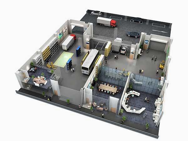 Loyang Enterprise Building Sample Unit