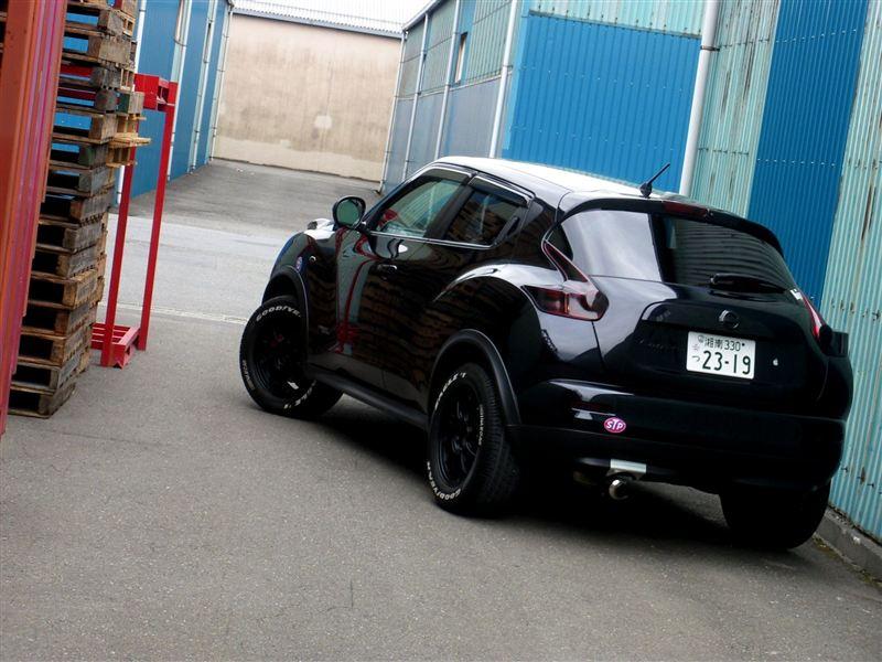 Nissan Juke crossover japoński oryginalny design 日本車, チューニングカー, 日産