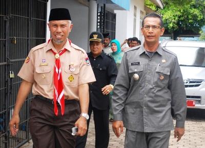 Partai Keadilan Sejahtera Padang Pariaman Acara Pisah Sambut Camat Bungus Teluk Kabung