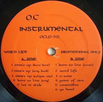 O.C. – Word…Life (Instrumentals LP) (1994) (320 kbps)