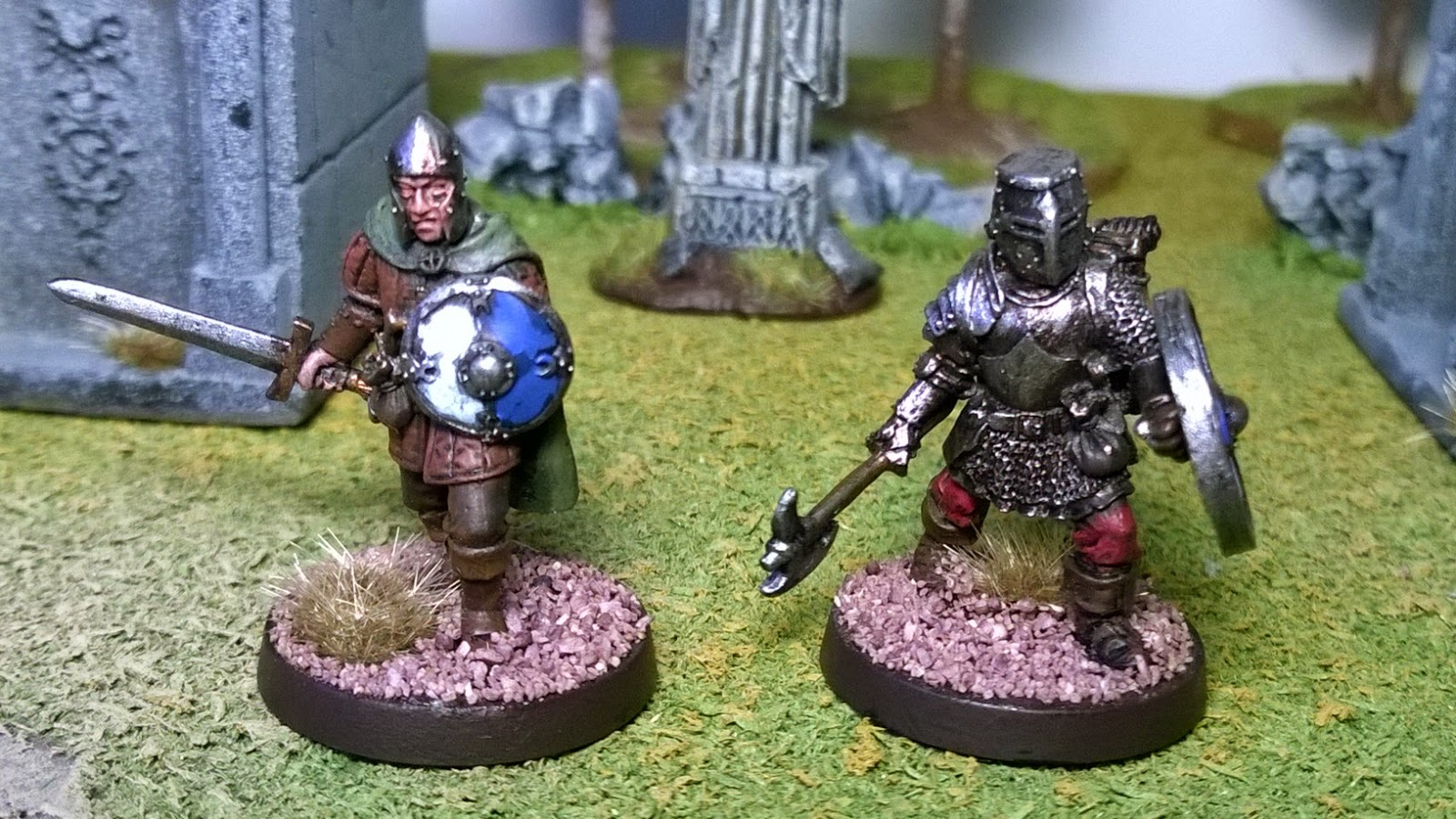 otherworld miniatures 28mm warriors d&d