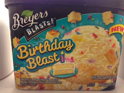 Dreyers Birthday Cake Ice Cream Calories