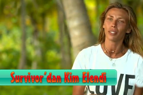 Survivor All Star Kim Elendi 10 Mart 2015 Salı